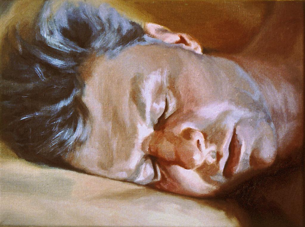 Sleeping Self Portrait  No.2
