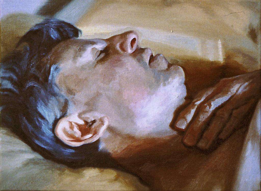 Sleeping Self Portrait  No.1